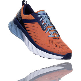 Hoka One One Arahi 3 Running Shoes Herr nasturtium/patriot blue